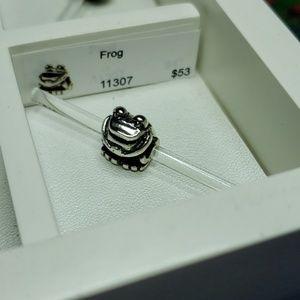 Trollbeads Frog Sterling Silver Bead